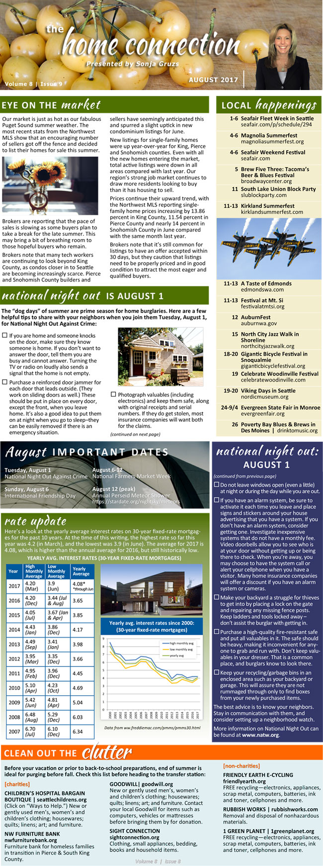 The Home Connection August 2017